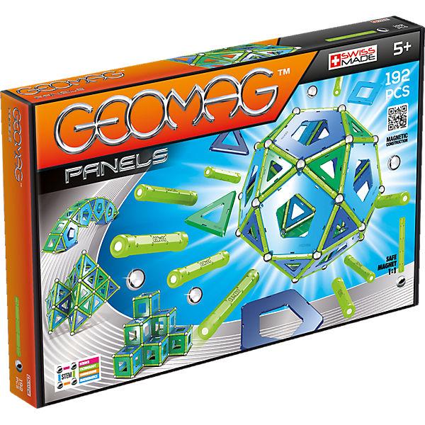 Магнитный конструктор Geomag Panels, 192 детали