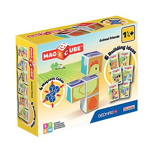 """Конструктор магнитный Geomag """"MagiCube"""" Друзья зверушки, 7 деталей от Geomag"""