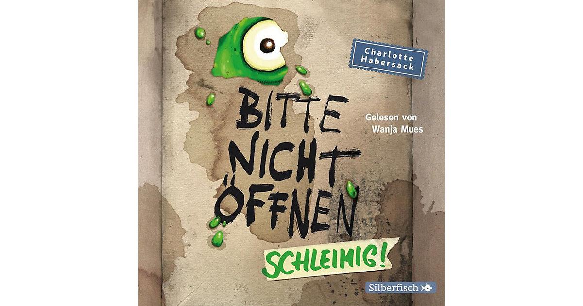 Bitte nicht öffnen - Schleimig!, 2 Audio-CDs Hörbuch