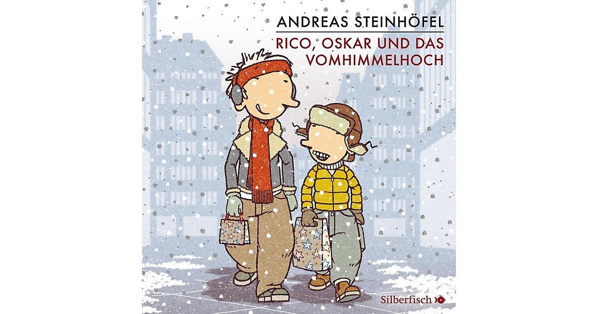 Carlsen · Rico, Oskar und das Vomhimmelhoch, 4 Audio-CDs
