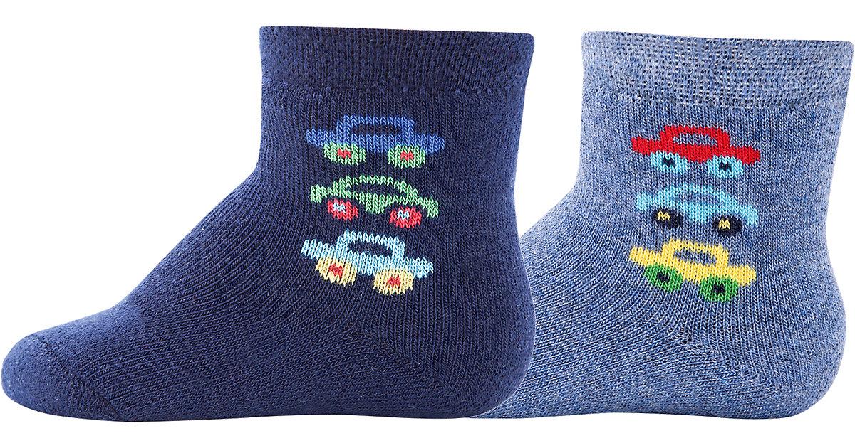 Baby Socken Doppelpackmit Innenplüsch, , Autos ...