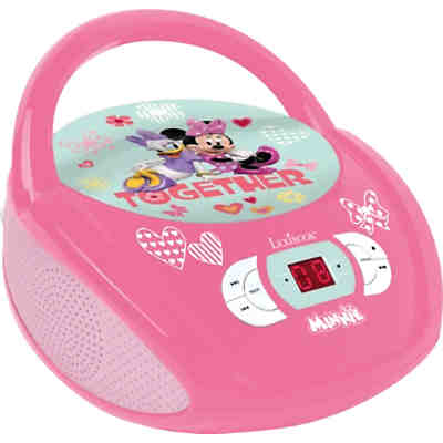 minnie cd player mit radio neues design disney minnie mouse mytoys. Black Bedroom Furniture Sets. Home Design Ideas