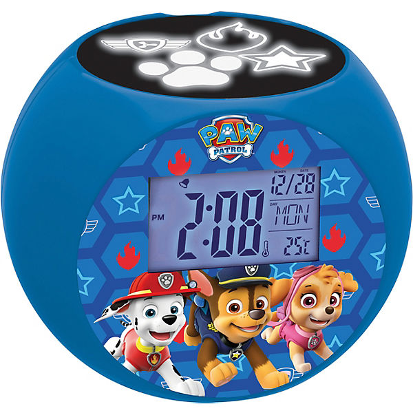 paw patrol radiowecker mit projektion paw patrol mytoys. Black Bedroom Furniture Sets. Home Design Ideas