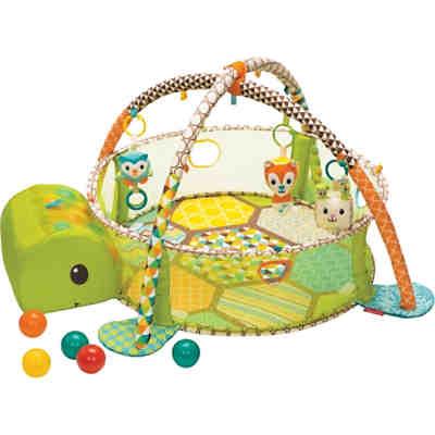 babydecke mit spielbogen b llebad schildkr te infantino mytoys. Black Bedroom Furniture Sets. Home Design Ideas