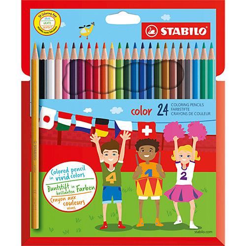 Карандаши цветные 24цв от STABILO