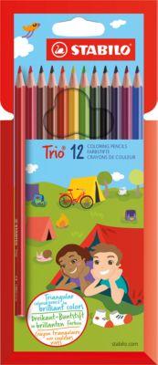 Карандаши цветные 12цв TRIO