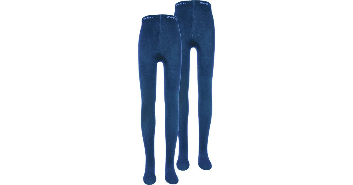 ewers · Kinder Strickstrumpfhosen Doppelpack Comodo Gr. 134/146
