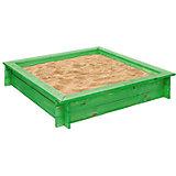 """Деревянная песочница """"Клио"""", зеленая, PAREMO"""
