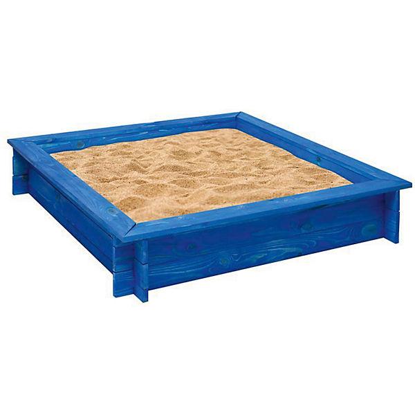"""Деревянная песочница """"Одиссей"""", синяя, PAREMO"""