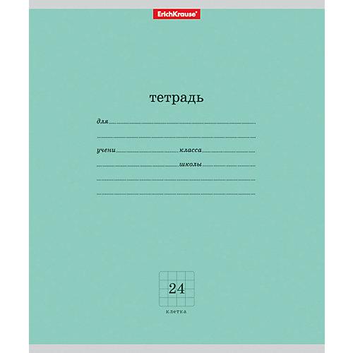 Тетрадь ученическая Классика 24л, 10 шт, клетка от Erich Krause