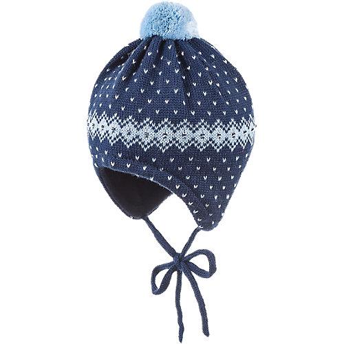 MaxiMo Baby Mütze zum Binden Gr. 47 Jungen - broschei