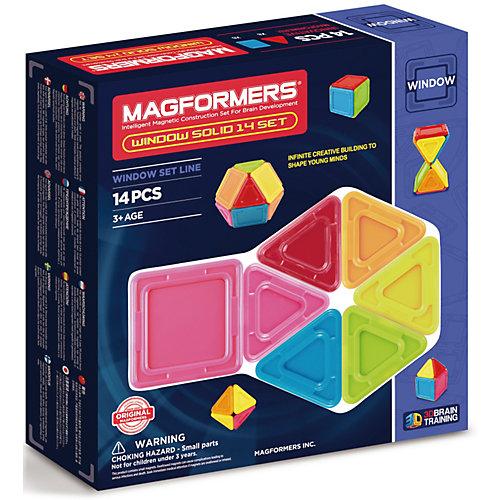 Магнитный конструктор 714005 Window Solid 14 set, MAGFORMERS от MAGFORMERS