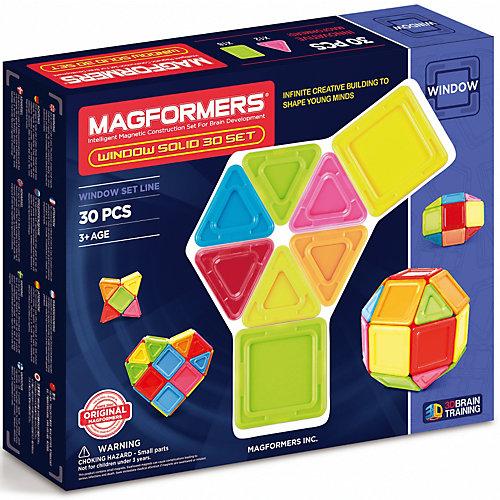 Магнитный конструктор 714006 Window Solid 30 set, MAGFORMERS от MAGFORMERS