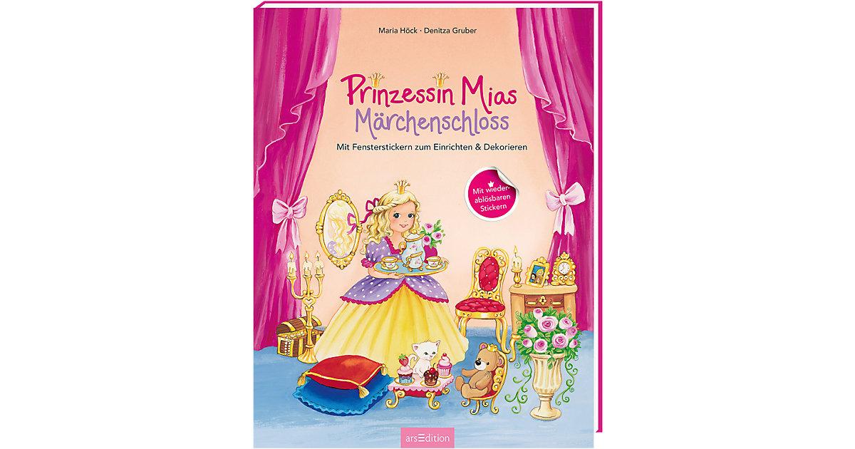 Prinzessin Mias Märchenschloss, mit Fensterstickern zum Einrichten und Dekorieren