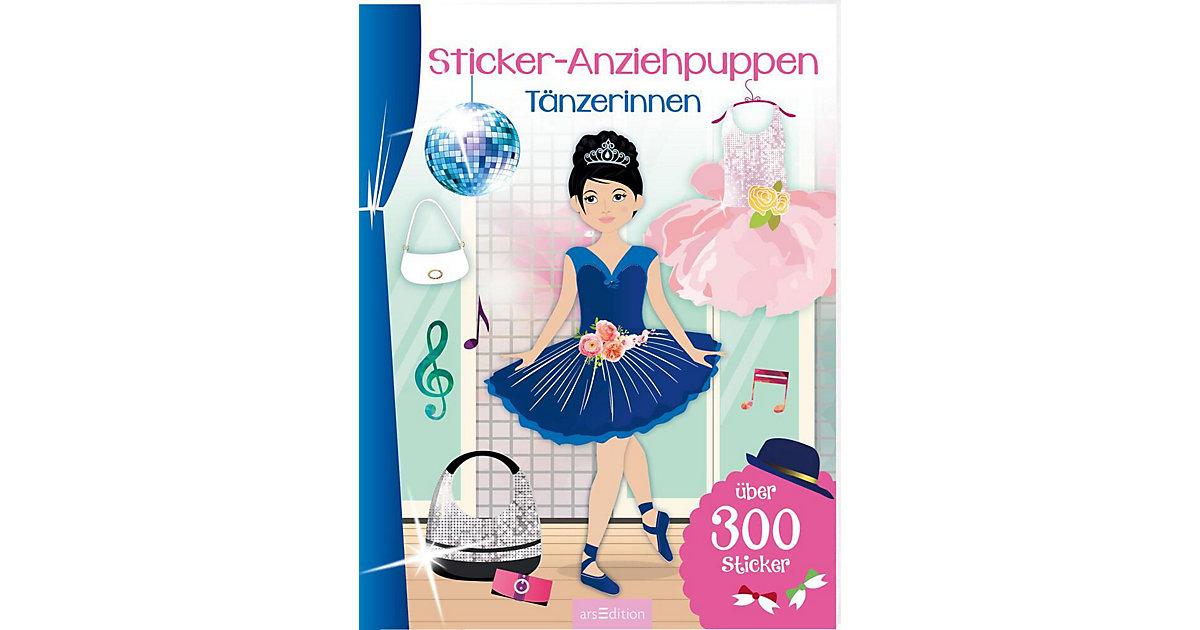 Sticker-Anziehpuppen: Tänzerinnen
