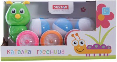 """Каталка """"Гусеница с шариками"""", Стеллар-М"""
