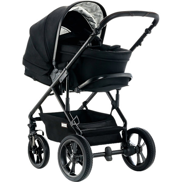 Kombi Kinderwagen LUSSO City, black/fishbone, 2018