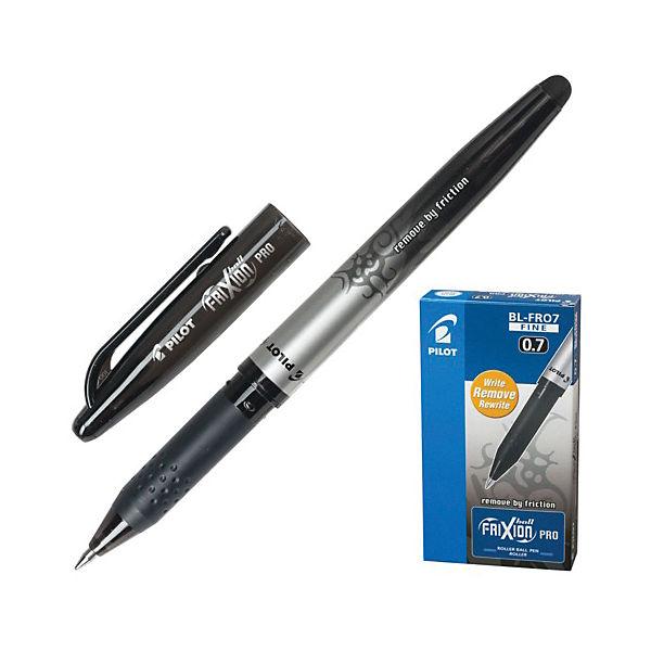 Ручка гелевая Pilot Frixion Rro со стриаемыми чернилами, 0,7 мм, черная