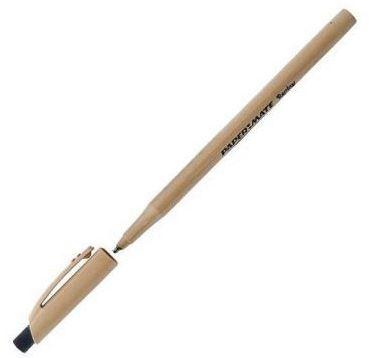 """Ручка шариковая Paper mate """"Replay"""" со стираемыми чернилами, черная"""