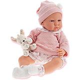 Кукла Бернардита в розовом, 52 см, Munecas Antonio Juan