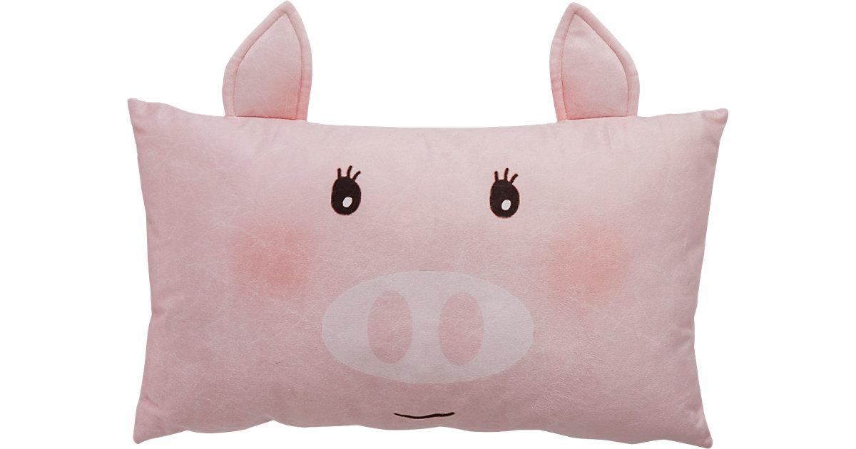 Dekokissen Piggy, 30 x 50 cm
