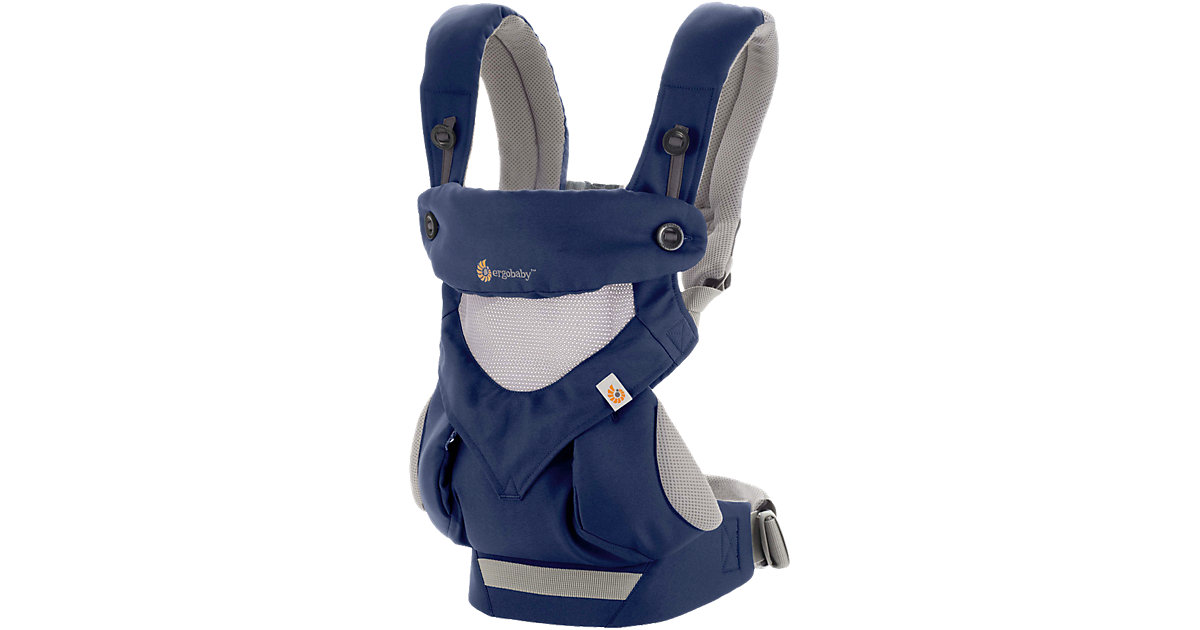 Babytrage 360°, Cool Air, French Blue