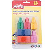 Play-Doh Восковые мелки для самых маленьких 6 шт. Размер 23,5 х 15 х 4 см.