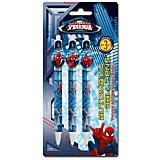 Spider-man Classic Набор из 3-х шариковых ручек с фигурным клипом в блистере Размер 20 х 10 х 1,5 см.