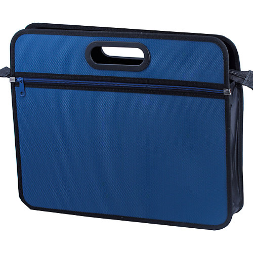 "Папка-сумка Brauberg ""Классика"" А4, синяя от Brauberg"