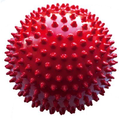 Мяч ёжик красный, 6,5 см, МалышОК