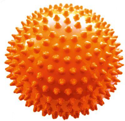 Мяч ёжик оранжевый, 8,5 см, МалышОК