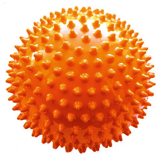 Мяч ёжик оранжевый, 8,5 см, МалышОК от Малышок