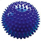 Мяч ёжик синий, 18 см, МалышОК