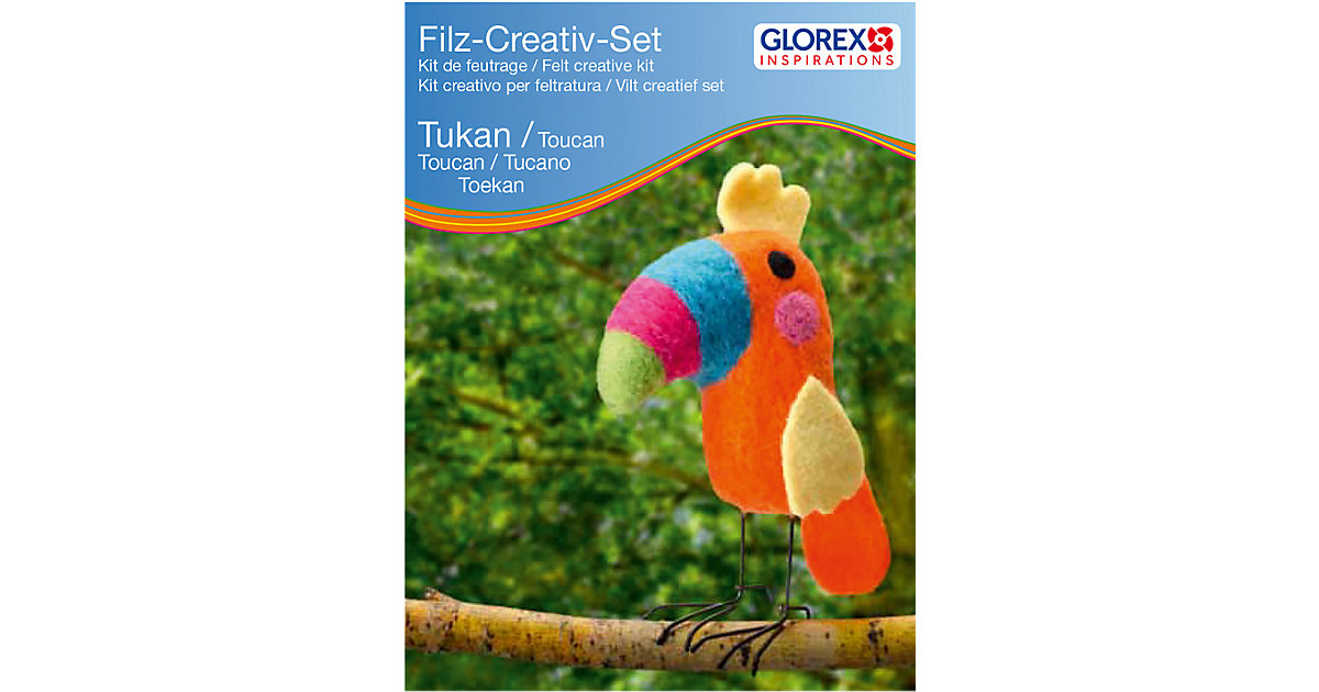 Filz-Kreativset Tukan