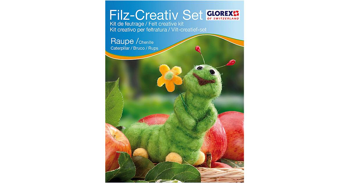Filz-Kreativset Raupe