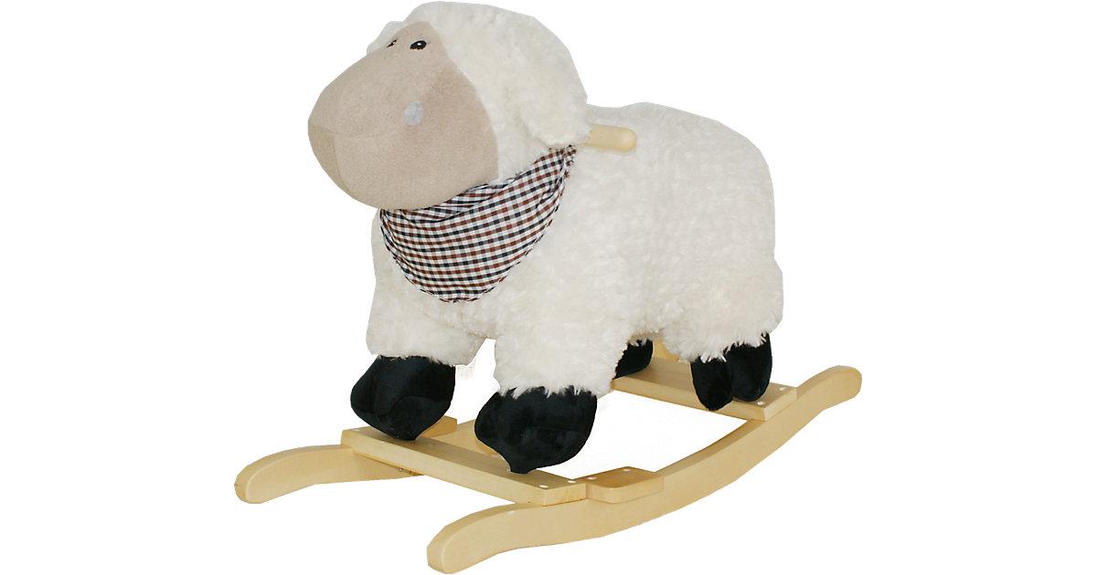 Sweety Toys Schaukeltier Schaf mit Halstuch mit...