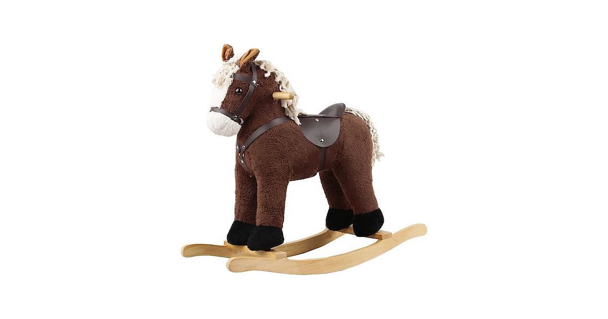 Sweety Toys AMIGO Schaukelpferd dunkelbraun