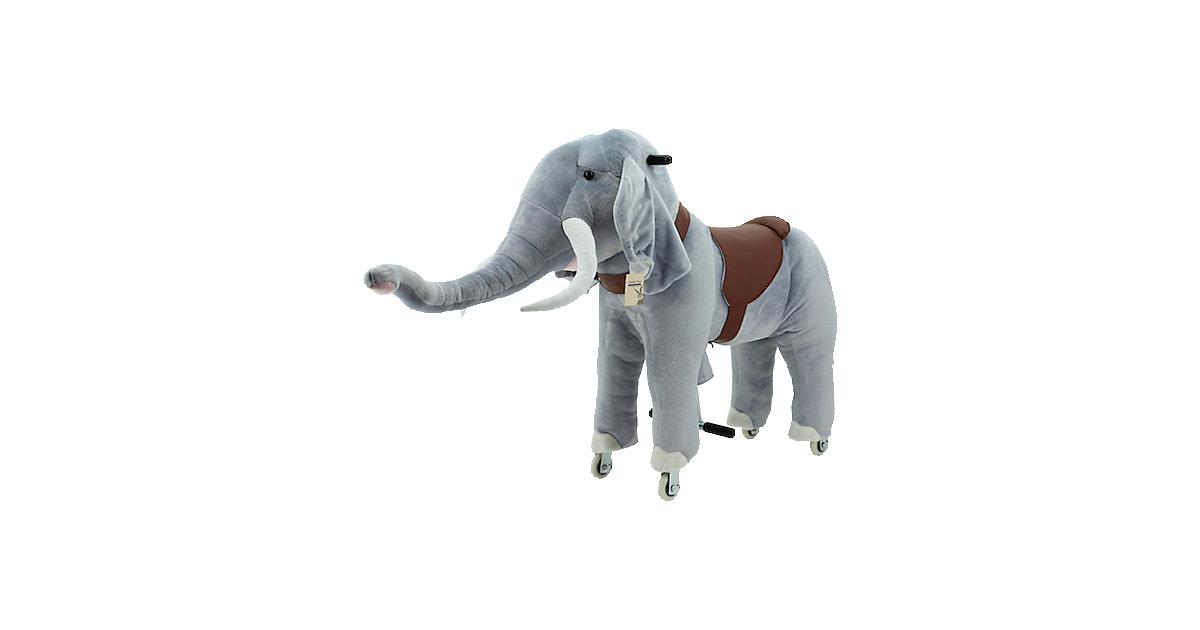 Sweety Toys Reittier Elefant auf Rollen, groß