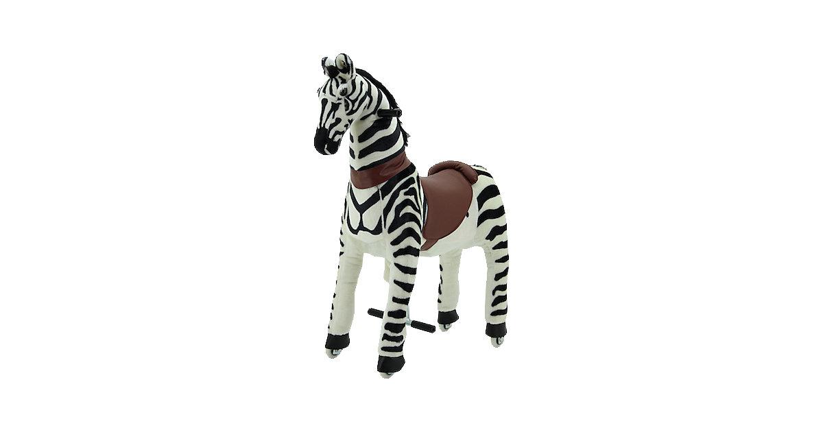 Sweety Toys Reittier Zebra auf Rollen, groß