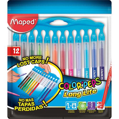 Фломастеры Maped «Color' peps long life», 12 цветов от Maped