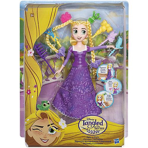 Кукла Disney Princess Рапунцель с модной прической от Hasbro