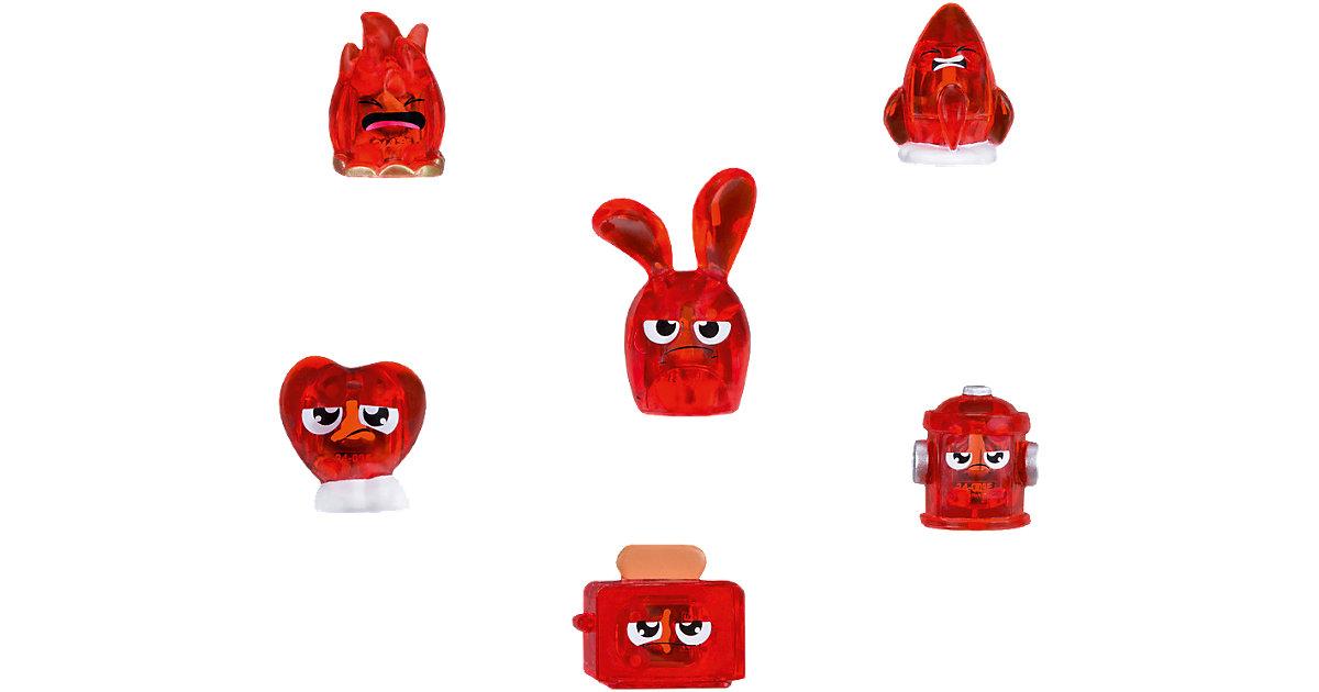Hanazuki Sammelschätze 6er-Pack Rot/Entschlossen