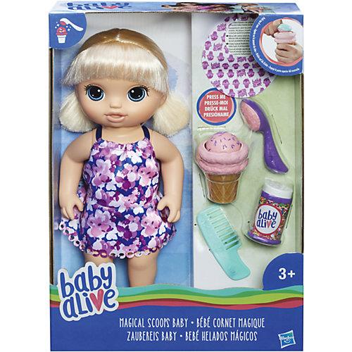 Интерактивная кукла Baby Alive Малышка с мороженным от Hasbro