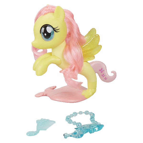 My Little Pony Movie Glitzernde Seeponys Stylingspaß Fluttershy
