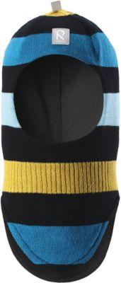 Шапка-шлем Reima Starrie для мальчика - черный/желтый