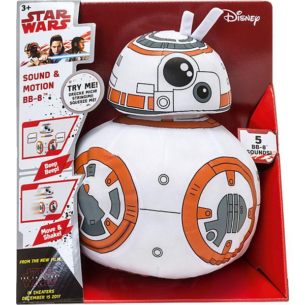 BB-8 30 cm Plüsch mit Bewegung und Originalsounds, Star Wars