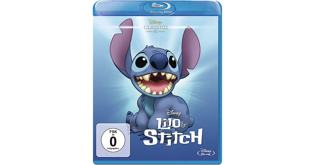 BLU-RAY Meisterwerke - Lilo & Stitch Hörbuch