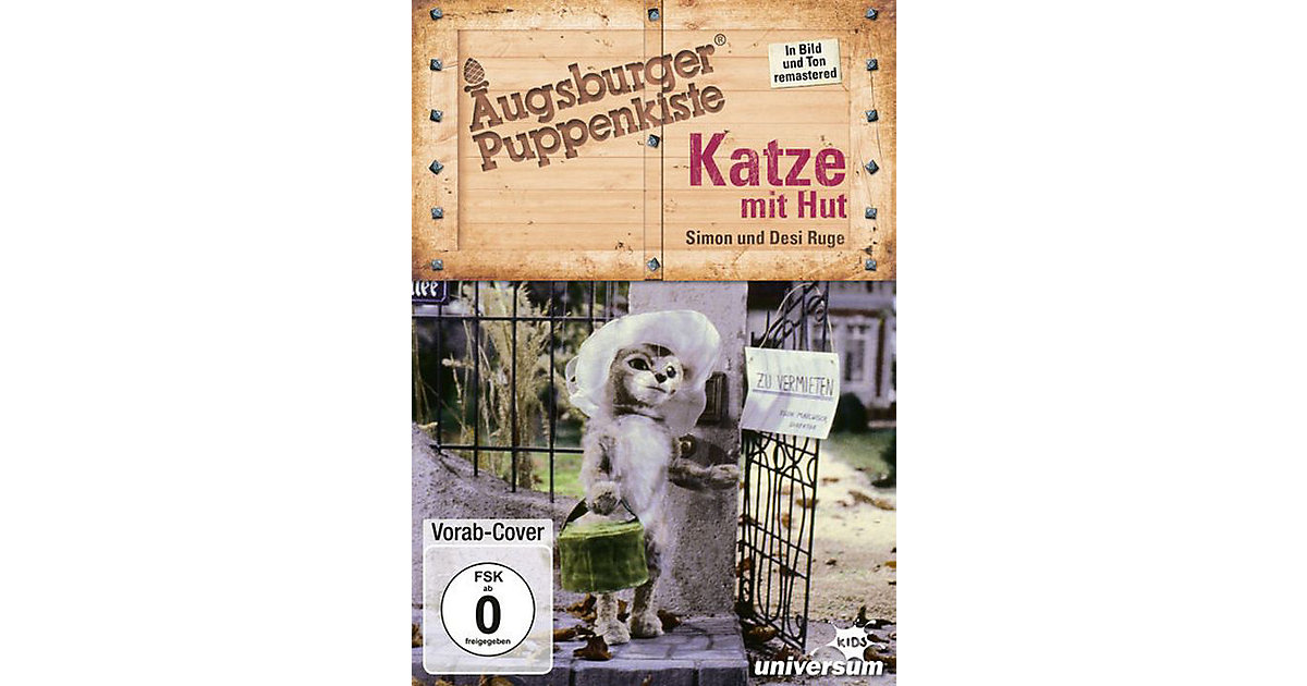 DVD Augsburger Puppenkiste - Katze mit Hut