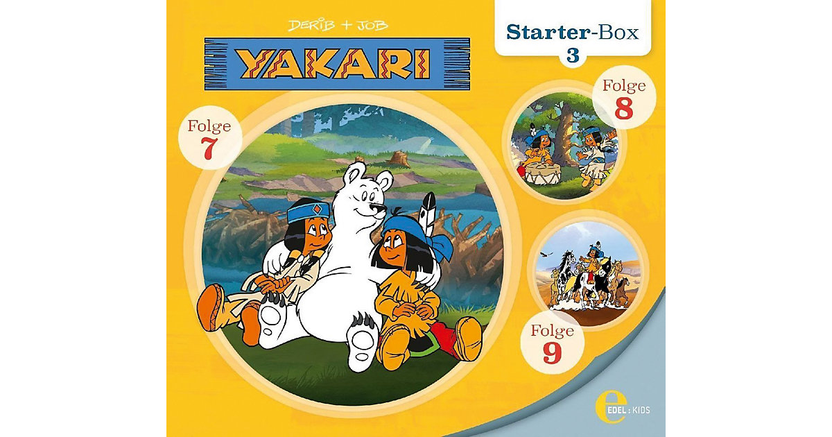 CD Yakari Starter Box 3 (3 CDs)