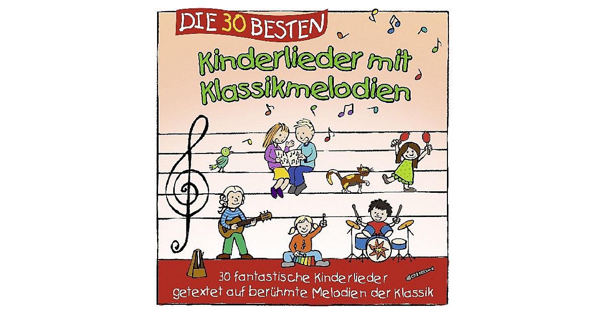 CD Die 30 besten Kinderlieder mit Klassikmelodien